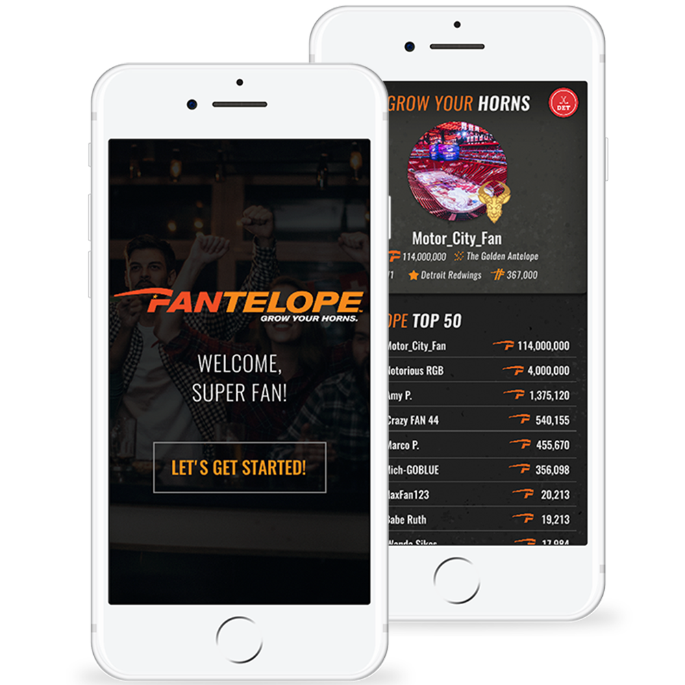 Fantelope Sports Engagment App