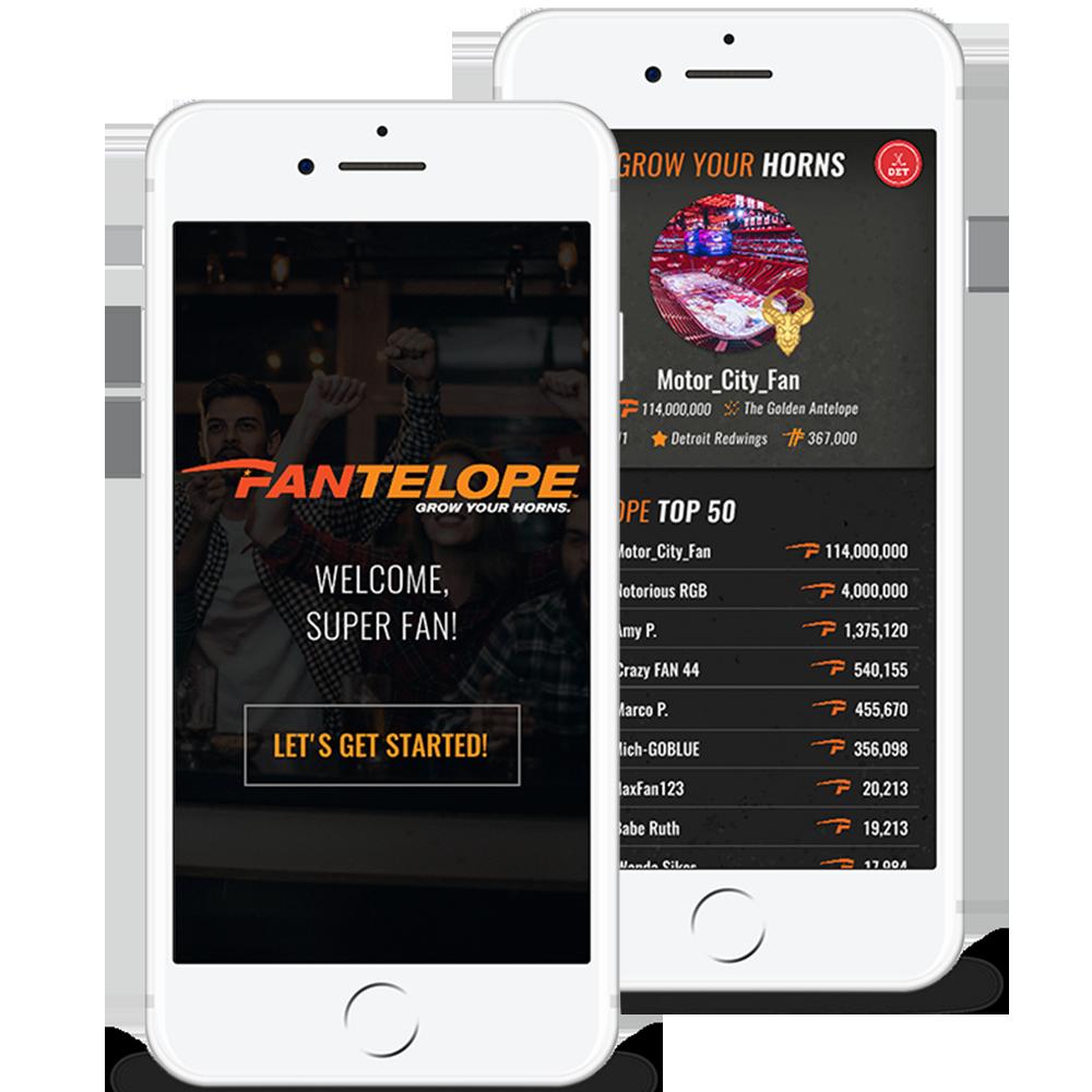 Fantelope Sports Engagment App