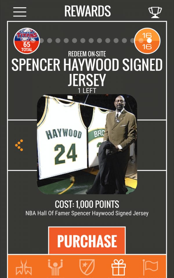 You can win an autographed Spencer Haywood Jersey.