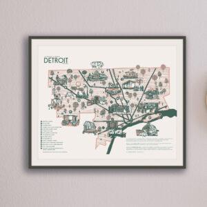 Green Detroit Map